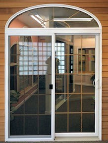 Integrity Sliding Door W Transom