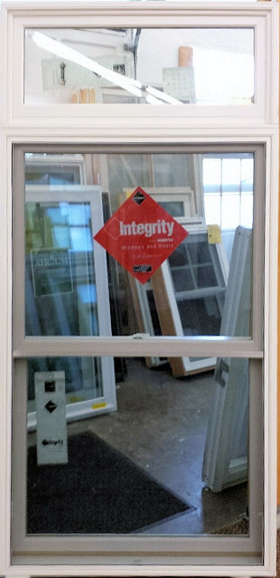 Integrity double hung w transom for Masonite belleville door price